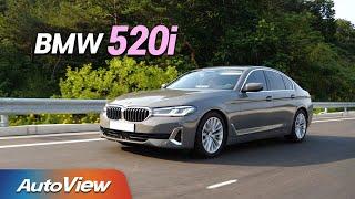 [오토뷰] 아직도 벤츠 E-클래스? 이게 구입 추천도 만점짜리 !!... BMW 520i 시승기