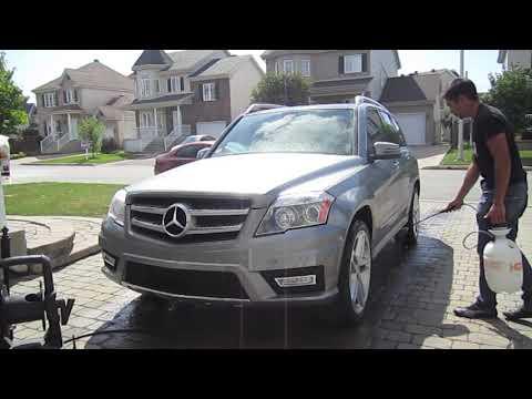 Auto Detailing: Mercedes-Benz GLK350 exterior