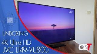 4K ULTRA HD TV JVC LT-49VU800