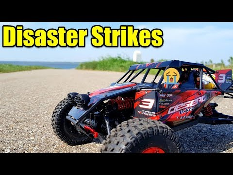 DISASTER STRIKES My Wltoys 12428 FY03 BREAKS DOWN at The First Test Drive