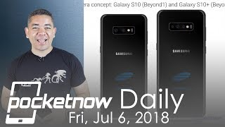 Samsung Galaxy 10 triple camera, iPhones with 5G & more - Pocketnow Daily