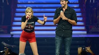 Taylor Swift Ft.Luke Bryan - I Don't Want This Night to End (DVD The RED Tour) Bônus