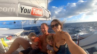 We Are a Family Travelling The World and Living Off the Grid On a Sailboat