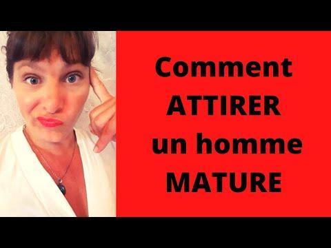 Comment attirer un homme mature ?