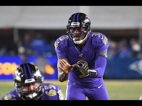 RAVENS NOTES: With a Trace