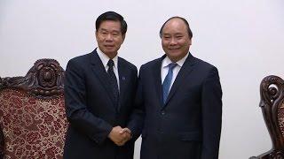 Thủ tướng Nguyễn Xuân Phúc tiếp Chủ tịch Tập đoàn CapitaLand