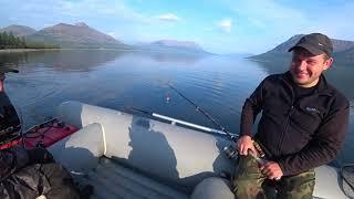 Рыбалка на озере лама норильск