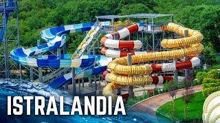 ALL WATER SLIDES At Aquapark Istralandia In Croatia! (POV)