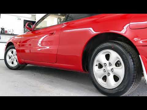 Mazda MX 6 four-wheel steering in 4K