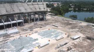 Orlando Citrus Bowl Stadium Reconstruction Time-Lapse