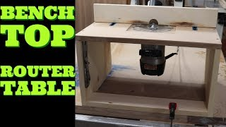 How to make a router table most popular videos bench top router table diy keyboard keysfo Images