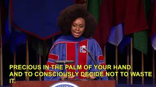 Chimamanda Ngozi Adichie Commencement Address For American University College Of Arts & Sciences
