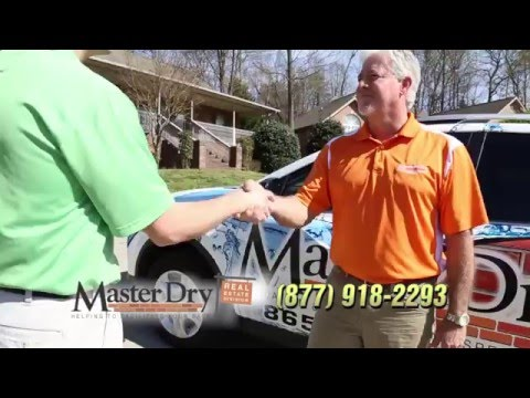 A wet basement, a dirty crawl space or a foundation crack can really stall a real state deal.