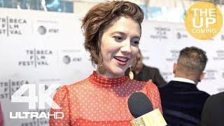 Mary Elizabeth Winstead interview on All About Nina, Gemini Man, Ewan McGregor at Tribeca premiere