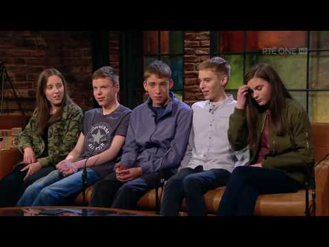 The Cassidys on hearing they were having quintuplets | The Late Late Show | RTÉ One