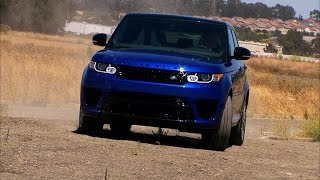 2015 Land Rover Range Rover Sport SVR (CNET On Cars, Ep. 72)