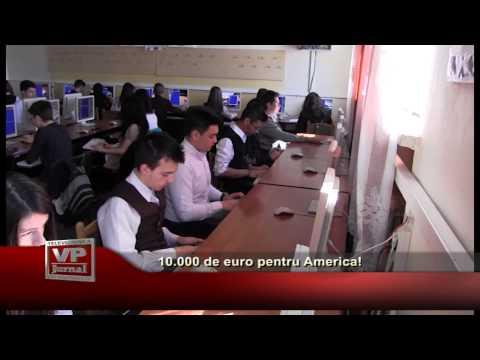10.000 de euro pentru America!