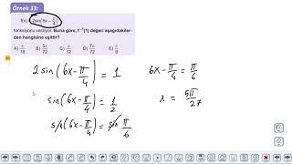 Eğitim Vadisi 11.Sınıf Matematik 5.Föy Trigonometrik Fonksiyonların Grafikleri 3 Konu Anlatım Videoları