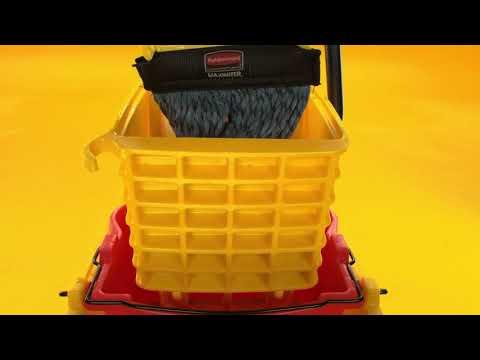 """Product video for [{""""languageId"""":2,""""languageCode"""":""""en-GB"""",""""propertyValue"""":""""WaveBrake® 35 QT Side-Press Bucket and Wringer, Yellow""""},{""""languageId"""":3,""""languageCode"""":""""fr-FR"""",""""propertyValue"""":""""Seau et presse latérale WaveBrake®, 33l, jaune""""},{""""languageId"""":4,""""languageCode"""":""""nl-NL"""",""""propertyValue"""":""""WaveBrake® 33L Emmer en zijwaartse wringer Geel""""},{""""languageId"""":5,""""languageCode"""":""""de-DE"""",""""propertyValue"""":""""WaveBrake® Moppeimer mit Presse und seitlichem Hebel, 33l, gelb""""}]"""