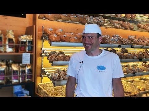 Traditionelles Bäckerhandwerk zum Herzeigen Stepha
