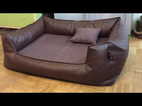 Orthopädisches Hundebett von tierlando - Linus Visco Plus Bett