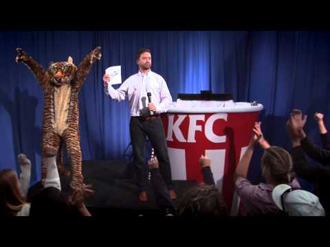Watch: KFC's Colonel Sanders Gets Dipped in BBQ Sauce