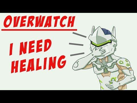 Лайк - каждый раз, когда я кашляю -_- Болею в Overwatch