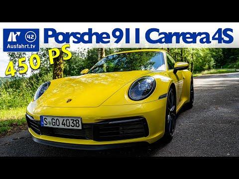 2020 Porsche 911 Carrera 4S (992) - Kaufberatung, Test deutsch, Review, Fahrbericht Ausfahrt.tv