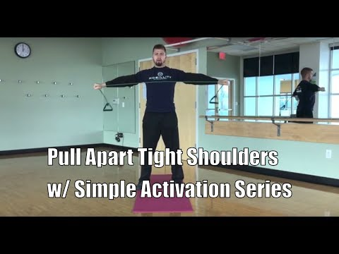 Pull Apart Tight Shoulders w/ This BJJ Warm-up | Mobillity Training ft. Billy Edelen