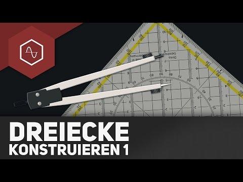 Dreiecke konstruieren - Teil 1 - Geometrie ● Gehe auf SIMPLECLUB.DE/GO & werde #EinserSchüler