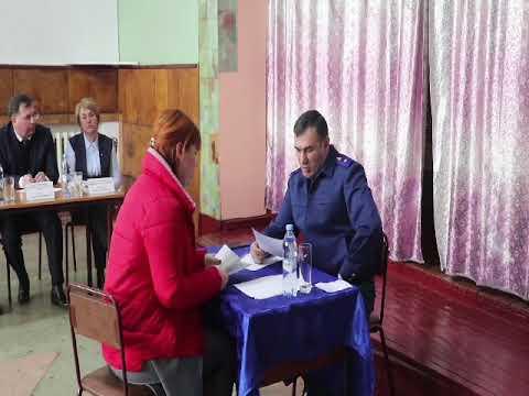 Прокурор Еврейской автономной области провел личный прием граждан в селе Найфельд Биробиджанско