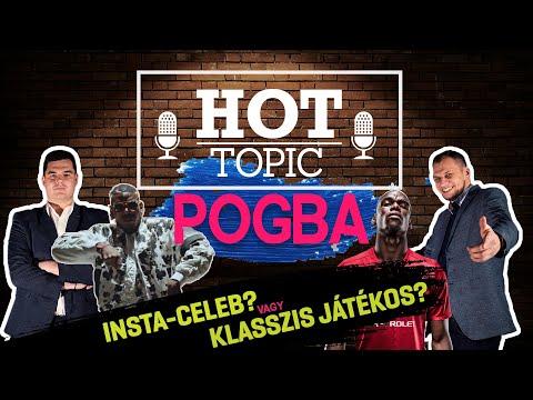 Pogba Insta-celeb vagy klasszis játékos? | Hot Topic | S01E23 | Unibet