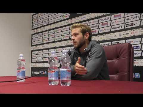 Arezzo-Olbia 2-1, intervista a Gori