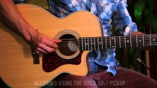 Guild OM-240CE Westerly Archback Orchestra Cutaway Video