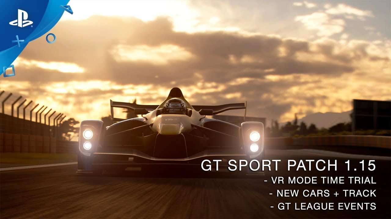 Gran Turismo Sport Patch 1.15 Out Today, Adds VR Time Trials