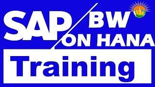 SAP BW On HANA Training Videos 1 - SAP BW On HANA Tutorial for beginners ( +91-8297944977 )