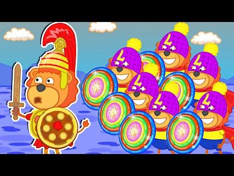Lion Family   Superheroes №6. Troy   Cartoon for Kids