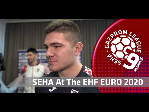 EHF EURO 2020: Time out with Marin Sipic (CRO)