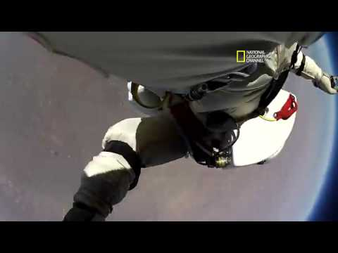 مقطع جديد لقفزة فيليكس عبر ناشيونال جيوغرافيك