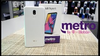 LG Stylo 5 Unboxing and first Look For metro By T-mobile