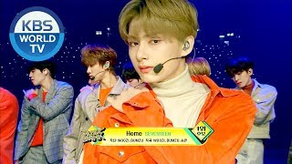 Gambar cover SEVENTEEN(세븐틴) - HOME [Music Bank / 2019.02.08]