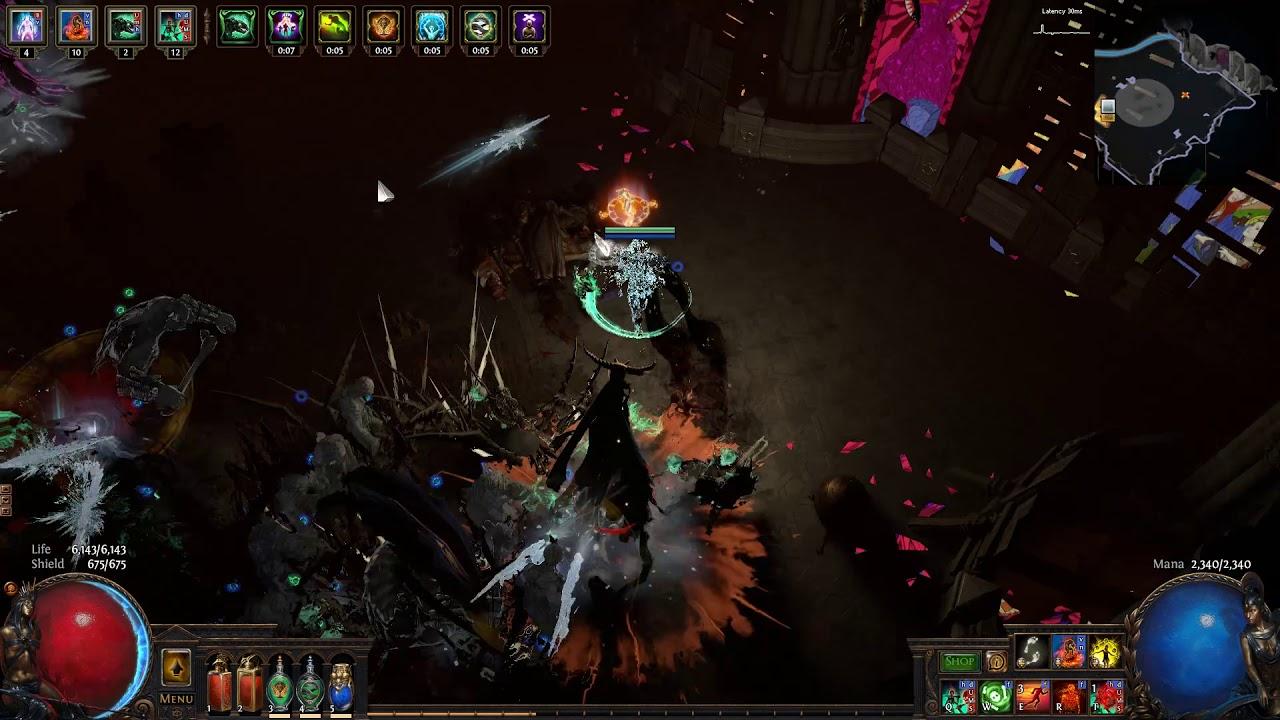 necromancer poe build