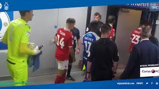 TUNNEL CAM: Wigan Athletic 2 Nottingham Forest 2