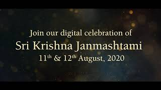 Witness Sri Krishna Janmashtami Celebrations on YouTube, Facebook, Insta | Hare Krishna Golden Temple