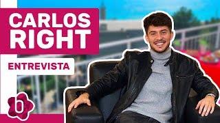 """Carlos Right: """"'Se Te Nota' No Es Una Canción Para Eurovisión, Pero Queda Bien Para Single"""""""