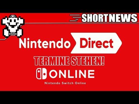 Termine bekannt - Nintendo Direct und Nintendo Online - Short #NerdNews 322 (видео)