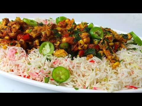 QUICK MASALA CHICKEN RICE RECIPE