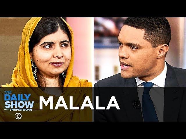 英语中Malala Yousafzai的视频发音