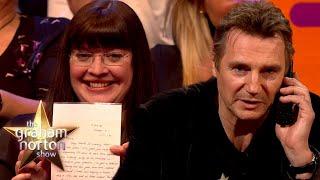 Liam Neeson Meets His First Fan & Recreates His 'Taken' Line | The Graham Norton Show