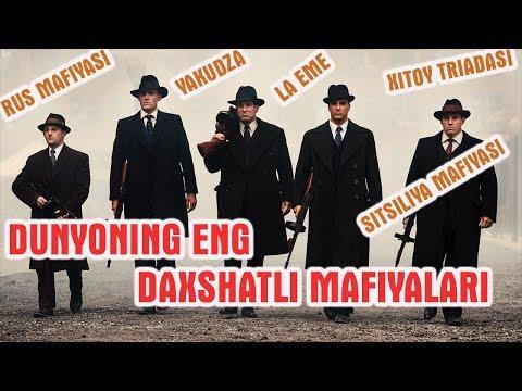 Dunyoning ENG DAXSHATLI MAFIYALARI haqida! Yakudza,Rus mafiyasi,Sitsiliya mafiyasi,Xitoy Triadasi